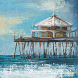 Boardwalk Pier Posters by Liz Jardine