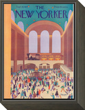 The New Yorker Cover - September 10, 1927 Framed Print Mount by Theodore G. Haupt
