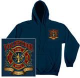 Hoodie: Volunteer Firefighter T-shirts
