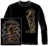 Long Sleeve: American Soldier T-Shirt