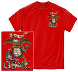 USMC - Eagle Red T-shirts