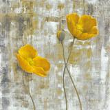 Yellow Flowers I Plakat av Carol Black