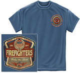 Firefighter - Denim Fade Shirts