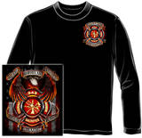 Long Sleeve: Firefighters - Hero's Shirt