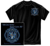 All Gave Some Firefighter Maltese T-shirts