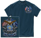 Double Flag Air Force Eagle T-shirts