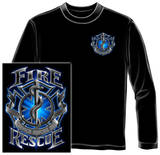 Long Sleeve: Fire Rescue T-shirts