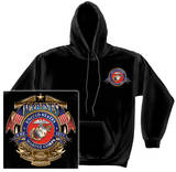 Hoodie: USMC - Badge Of Honor Shirt