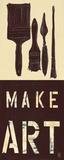 Make Art Reprodukcje autor Kelsey Hochstatter