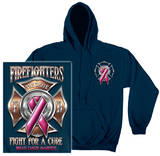 Hoodie: Firefighter - Race For A Cure Shirt