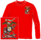 Long Sleeve: USMC Eagle T-Shirt