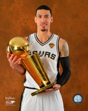 San Antonio Spurs Danny Green NBA Championship Trophy Game 5 of the 2014 NBA Finals Photo