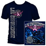Elite Breed Law Enforcement Fight Breast Cancer T-Shirt