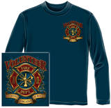 Long Sleeve: Volunteer Fire - Tradition Sacrifice Dedication Shirts