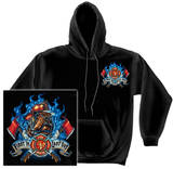 Hoodie: Firefighter - First In Last Out T-shirts