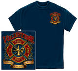 Volunteer Firefighter - Tradition Sacrifice Dedication Shirt