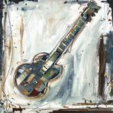 Imprint Guitar Print by Kelsey Hochstatter