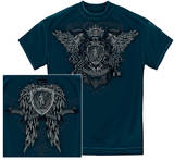 Law - Skull Wings T-shirts