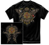 Firefighter - Skull Wings Shirt