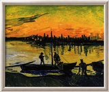 The Stevedores in Arles Framed Giclee Print by Vincent van Gogh