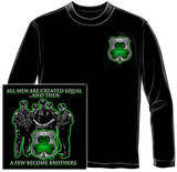 Long Sleeve: Policeman's Brotherhood Irish T-Shirt