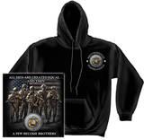 Hoodie: USMC - Brotherhood Pullover Hoodie