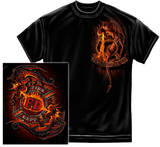 Firefighter - Ying Yang FD Dragon T-shirts
