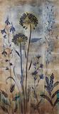 Silver Botanicals II Prints by Elizabeth Jardine