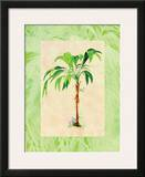 Palm Breezes II Poster by Hal Moore