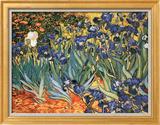 Irises Poster by Vincent van Gogh