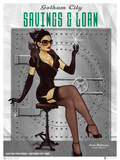 DC Bombshells Catwoman Poster by Lucia Ant