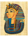 Mask of King Tutankhamun Poster