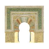 Mosque of Cordoba, Spain, Mihrab Giclee Print by Fernando Aznar Cenamor