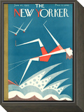 The New Yorker Cover - June 20, 1925 Framed Print Mount by H.O. Hofman