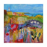 Coastal Meadow 2013 Giclee Print by Sylvia Paul