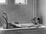 1966 World Cup: Jimmy Greaves Resting Photographic Print
