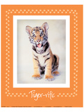 Tiger-Ific Poster by Rachael Hale