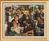 Le Moulin de la Galette Poster di Pierre-Auguste Renoir