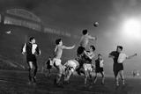Manchester United and Bilbao, 1957 Photographic Print