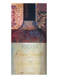 Rioja Red Wine Prints by Louise Montillio