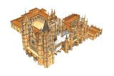Leon Cathedral, Spain Giclee Print by Fernando Aznar Cenamor