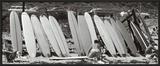 Waxing Up, 1960 Art by Leigh Wiener