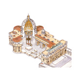 St, Peter's Basilica, Vatican City, Rome, Italy Giclee Print by Fernando Aznar Cenamor
