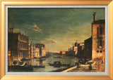Francesco Fironi - Grand Canal Venice, Looking East - Poster