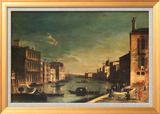 Grand Canal Venice, Looking East Poster di Francesco Fironi