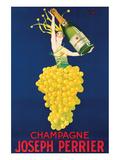 Champagne Joseph Perrier Print