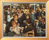 Le Moulin de la Galette Kunst af Pierre-Auguste Renoir