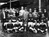 Manchester United Group Photograph, 1908 Photographic Print
