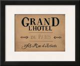 Grand l'Hotel Posters