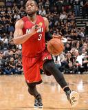2014 NBA Finals Game One: Jun 05, Miami Heat vs San Antonio Spurs - Dwayne Wade Photographie par Andrew Bernstein